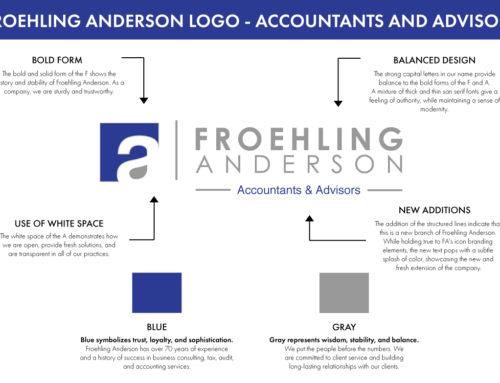 Froehling Anderson Logo Breakdown
