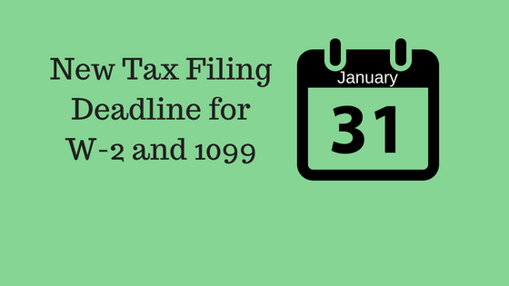 New 1099 Tax Filing Deadline - Froehling Anderson