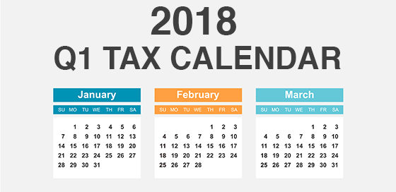 Photo of 2018 Tax Calendar