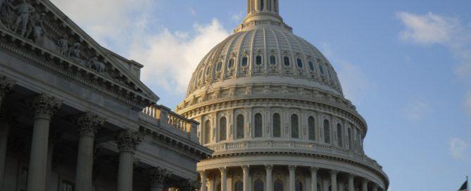 A photo of U.S. Capitol